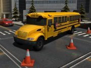 Park It 3D School Bus